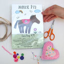 Make Your Own Little Pony Sewing Kit