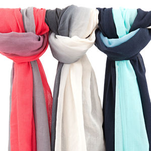 Ombre Scarf Sarong - hats, scarves & gloves