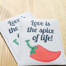 Chillie Seeds Wedding Favours Pack Of 10