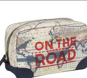 Cartography Wash Bag - bags & cases