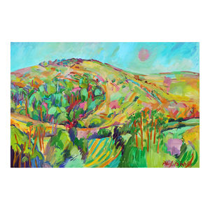 Melbury Hill Three Print - contemporary art