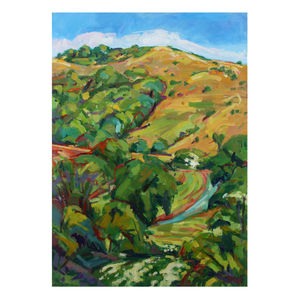 Melbury Hill Two Print - contemporary art