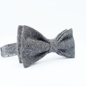 Yorkshire Birdseye Tweed Bow Tie - special work anniversary gifts