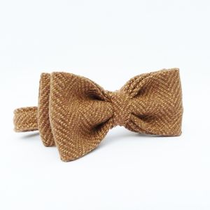 Boys Tweed Bow Tie - christening wear