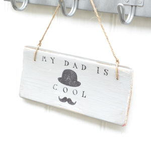 Gentleman Father Sign - decorative accessories