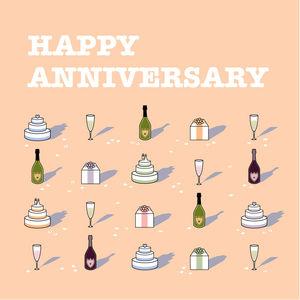 'Happy Anniversary' Card