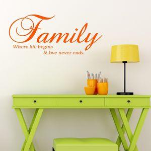 Family Vinyl Wall Sticker
