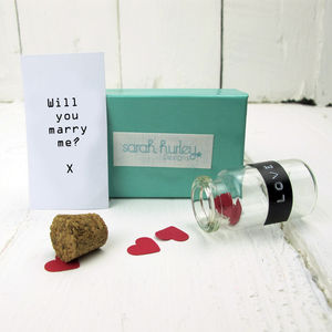 Love Label Personalised Letter In A Bottle