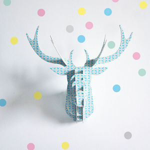 Set Of 40 Reusable Pastel Dots Wall Stickers