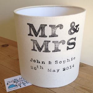 Mr And Mrs Lampshade