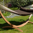 Big Island Double Hammock With Spreader Bars Coconut