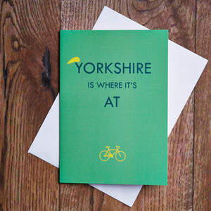 Yorkshire Is Where It's At Card