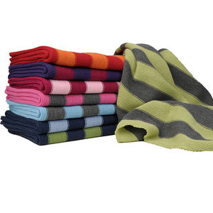 Striped Organic Merino Wool Baby Blanket - baby care