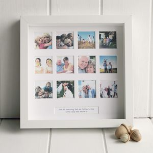 Personalised Special Occasion Photo Frame - gifts for new dads