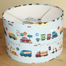 Traffic lampshade - large, personalised