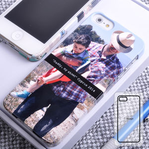 Personalised Photo iPhone Case - for gadget-lovers