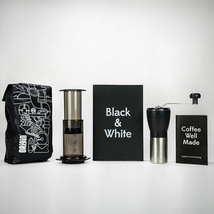 Home Barista Coffee Kit - food & drink gifts