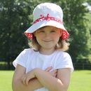 Reversible Flower Print Sun Hat