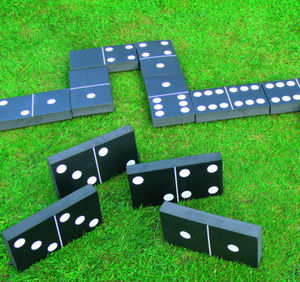 Giant Dominos Garden Game - traditional toys & games