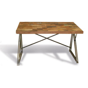 Mariner Reclaimed Boat Wood Desk - furniture