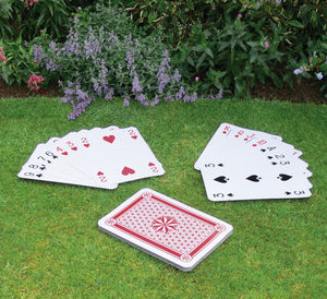 Giant Playing Cards - traditional toys & games