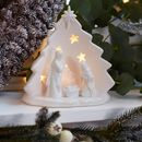 Nativity Scene Tea Light Holder