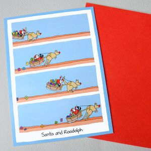 Roodolph Christmas Card - christmas cards