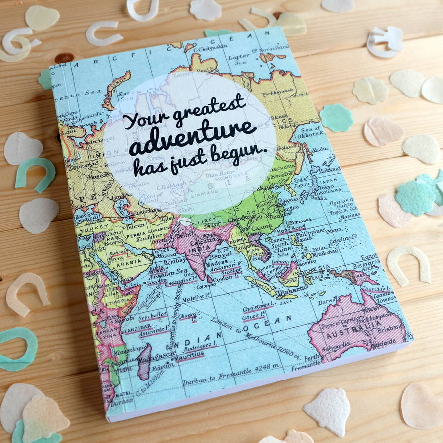 Wedding Planner Gifts: 'greatest Adventure' Wedding Planner Journal By Bookishly