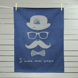 Father's Day Tea Towel - kitchen linen