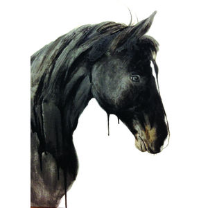 The Black Horse - paintings & canvases