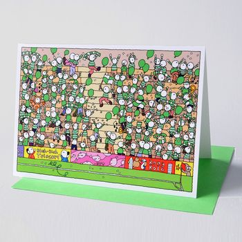 Inside the Ground Greeting Card