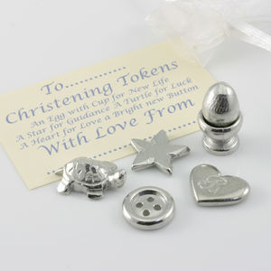 Christening Charm New Baby Gift - tokens & keep sakes