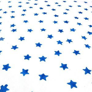 Blue Star Cotton Fabric - soft furnishings & accessories