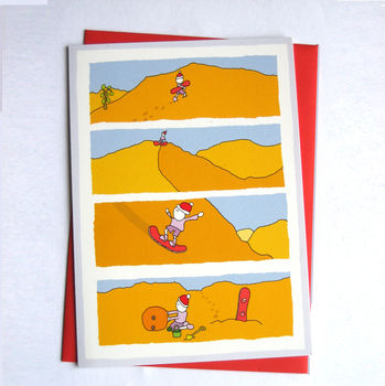 Sandman Christmas Card