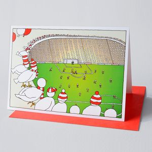 Above the Ground Greeting Card