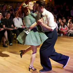 Swing Dance Class For Two - dance music & sport