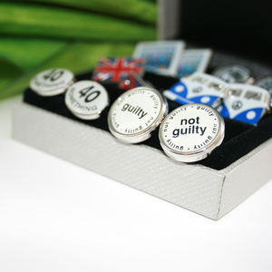 Father's Day Cufflink Gift Set