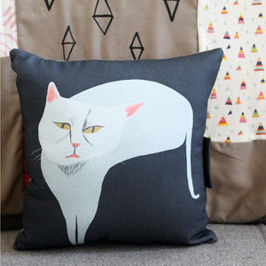 Diva Cat Cushion - cushions