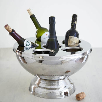 Hammered Champagne And Wine Bucket
