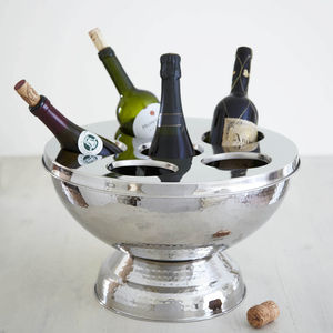 Hammered Champagne And Wine Bucket - drink & barware