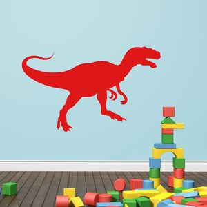T Rex Dinosaur Vinyl Wall Sticker - bedroom
