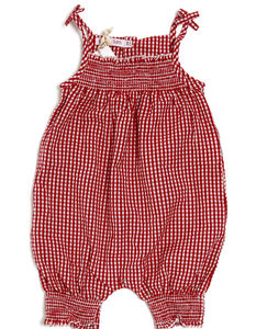 Lucy And Sam Gingham Playsuit