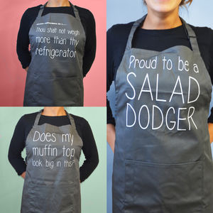 Humorous Aprons - kitchen accessories