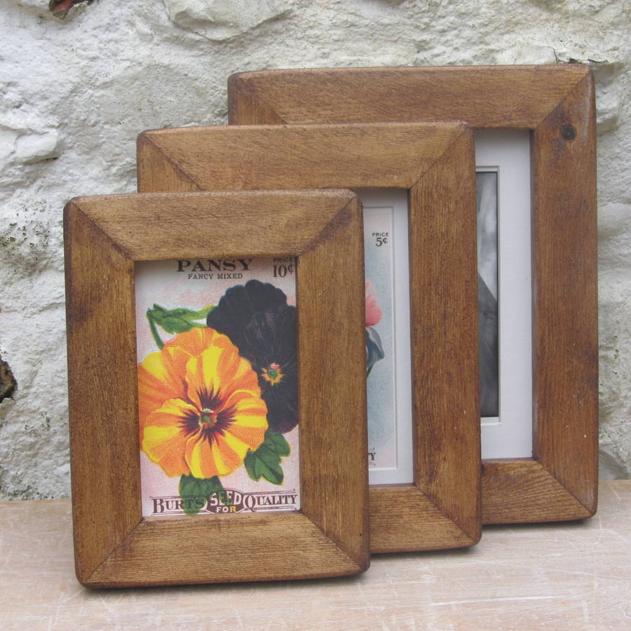 picture frames uk  old wood picture frame by horsfall & wright