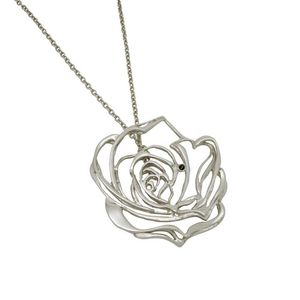 Josie Rose Black Diamond And Silver Pendant - necklaces & pendants