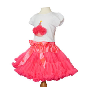 Neon Pink Pettiskirt - baby & child