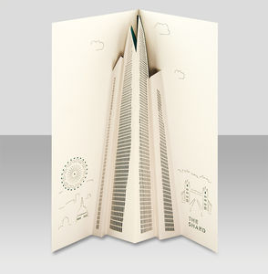 The Shard Pop Up Card - all purpose cards