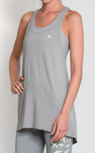 Draped Sports Vest - tops & t-shirts