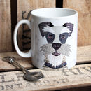 Schnauzer Personalised Dog Mug