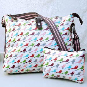 Bright Bird Crossbody Day Bag - bags & purses